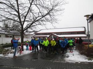 Silvesterlauf Start 2015